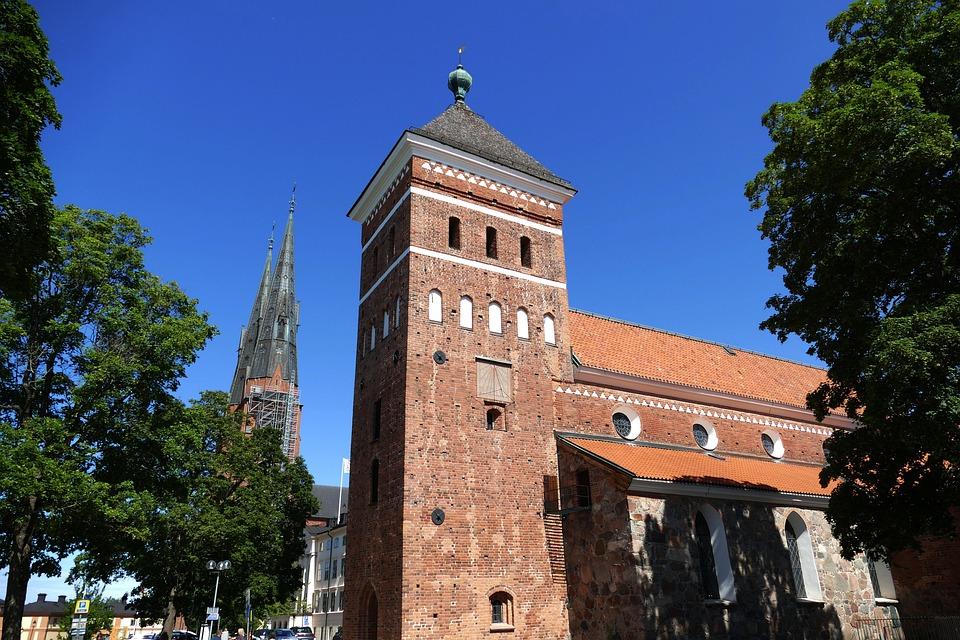 Uppsala, Sweden, Architecture, Bishop Church, Church