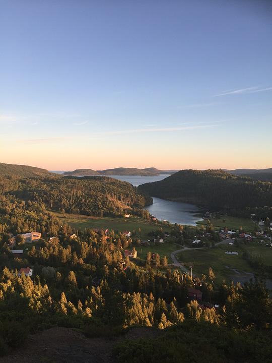 High Coast, Summer, Sweden, Outdoor, Beach, Holiday