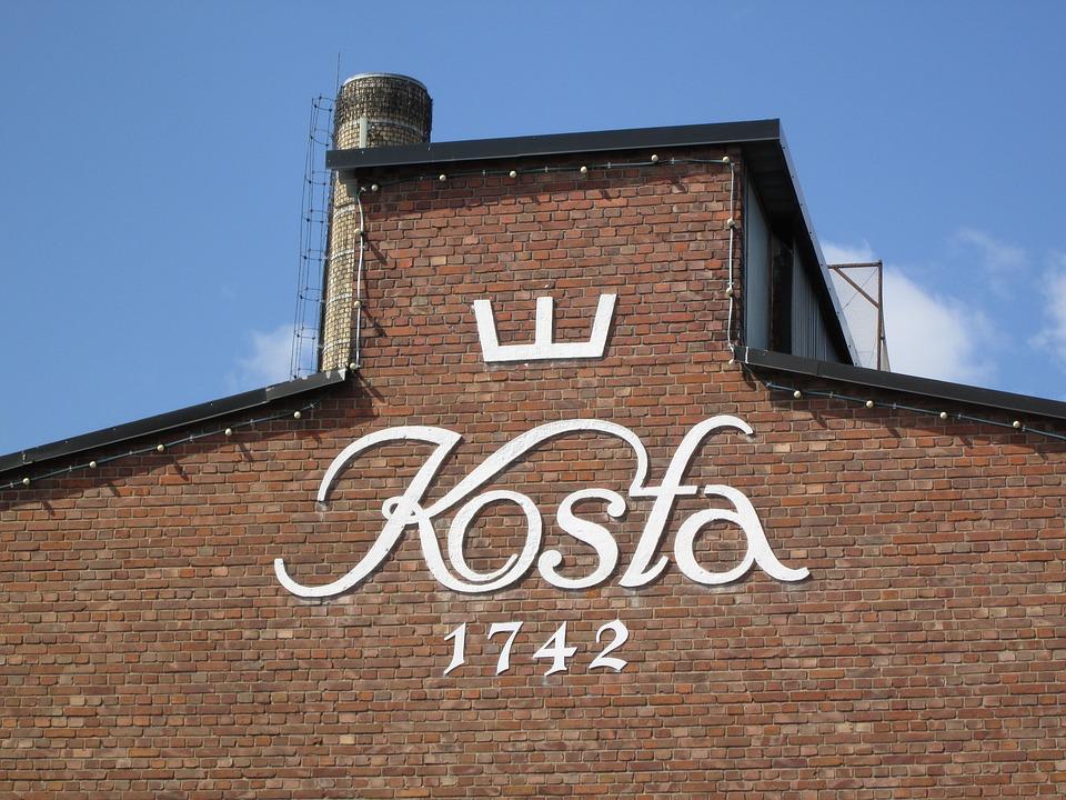 Kosta, Glass, Sweden, Glassware, Scandinavia, Glasswork