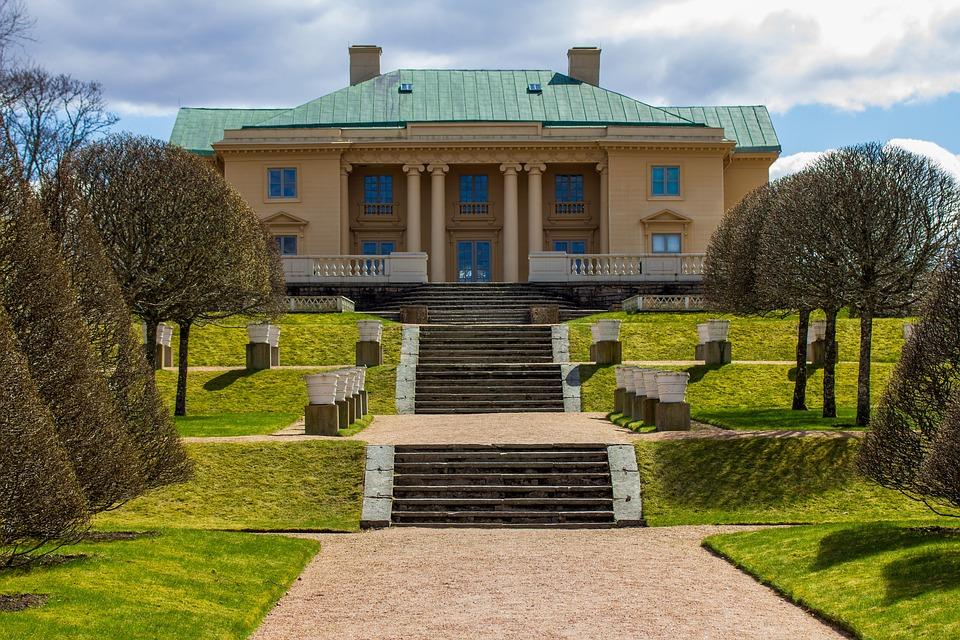 Gunnebo Castle, Castle, Mölndal, Sweden, Gunnebo