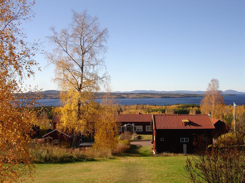 Landscapes, The Valleys, Tällberg, Beautifully, Sweden