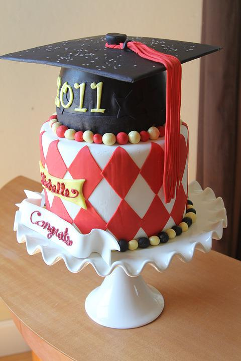 Graduation, Graduation Cake, Chocolate, Sweet, Birthday