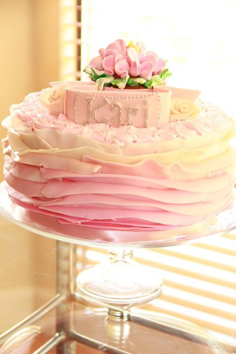 Cake, Pink, Sweet, Birthday, Celebration, Wedding