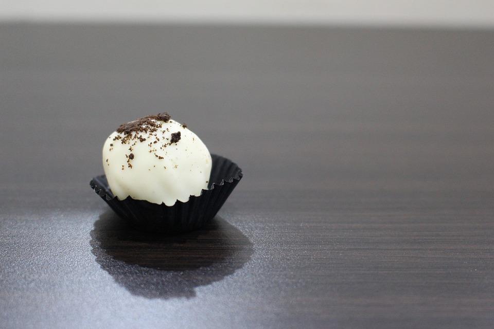 White Chocolate, Treat, Bites, Sweet, Snack