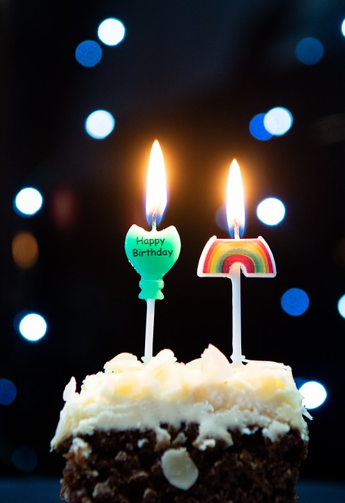 Candles Birthday Cake Sweet Candle Welcome