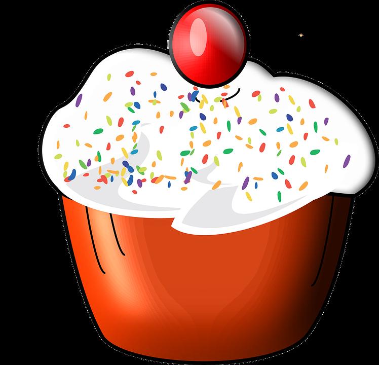 Cupcake, Food, Sweet, Dessert, Bakery, Birthday, Cake