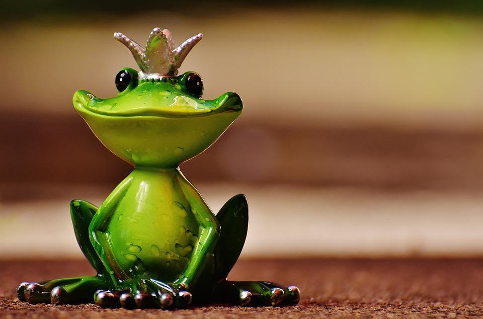 Free photo Sweet Cute Fig Frog Prince Fun Funny Crown Frog - Max Pixel