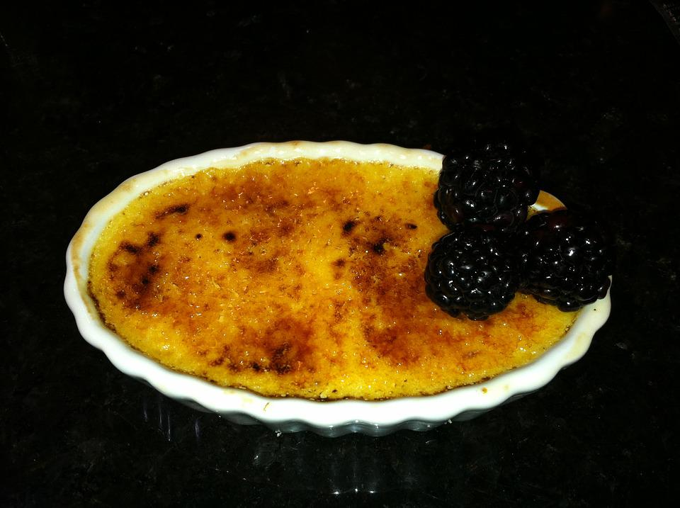 Brulee, Dessert, Custard, Delicious, Traditional, Sweet