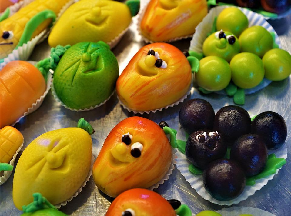 Marzipan, Sweet, Decoration, Cake, Delicious, Food