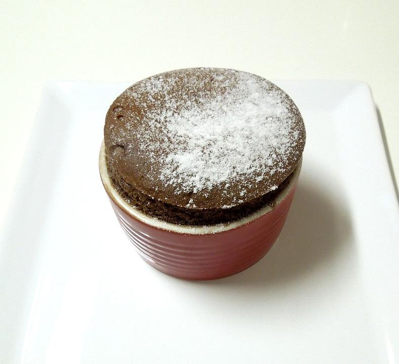 Soufflé, Sweet, Chocolate, Goodies, Candy, Sweet Dish