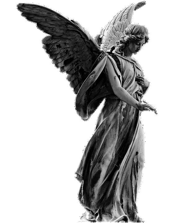 Angel, Statue, Angel Figure, Woman, Female, Wing, Sweet