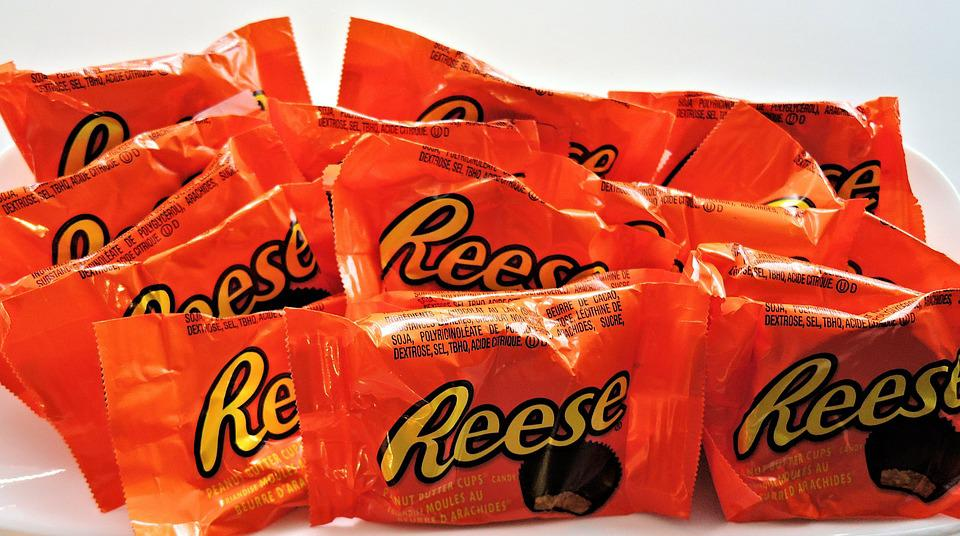 Peanut Butter Cups, Chocolate, Candy, Sweet, Food