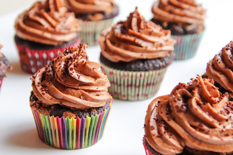 Cupcakes, Chocolate, Muffin, Food, Sweet, Baking