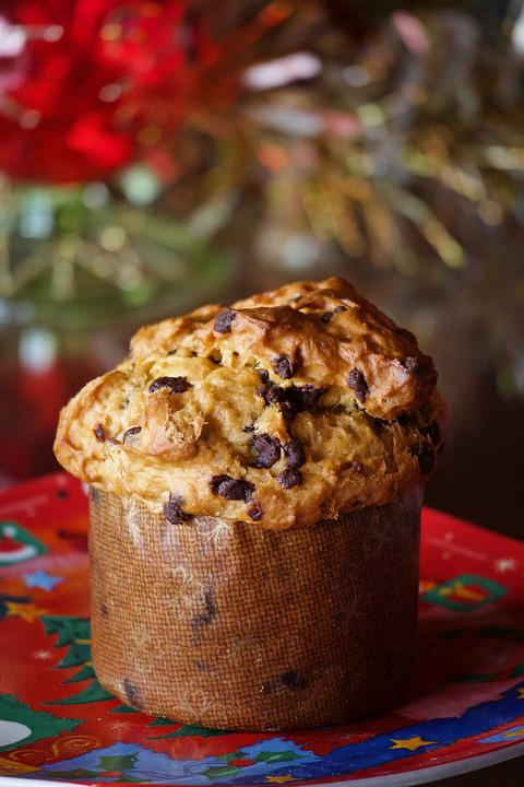 Panettone, Sweet, Christmas, Food, Gluten-free