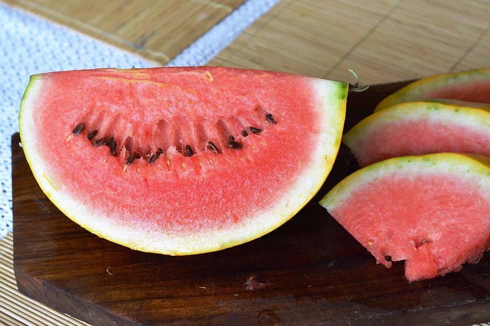 Watermelon, Sweet, Fresh, Fruit, The Richness Of