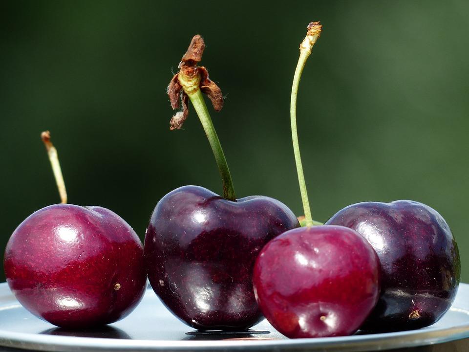 Cherries, Fruit, Red, Sweet, Sweet Cherries