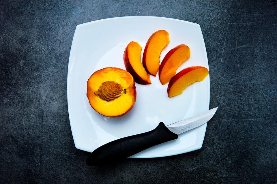 Peach, Snack, Fruit, Food, Healthy, Sweet, Fresh