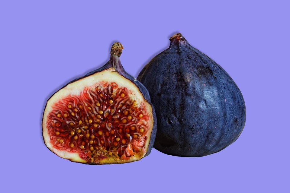 Fruit, Figs, Sweet, Healthy, Ripe, Fresh, Juicy, Sliced