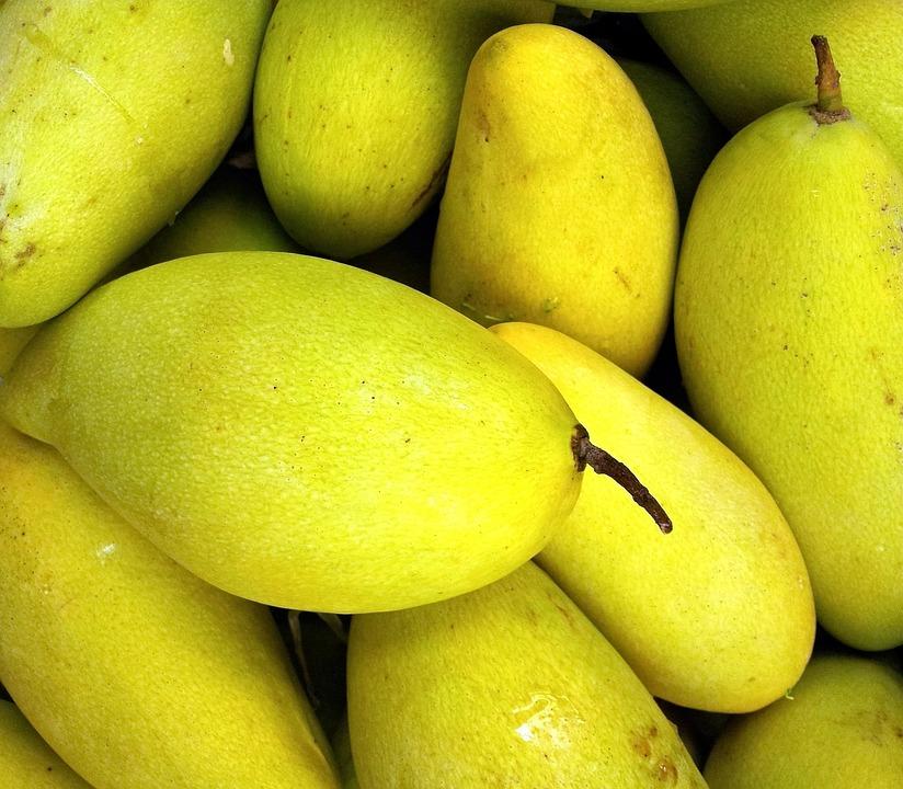 Mango, Fruit, Fresh, Healthy, Sweet, Vegetarian, Ripe