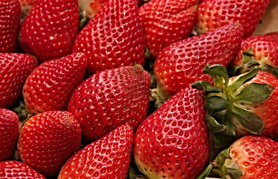 Strawberries, Red, Sweet, Fruit, Delicious, Fruits