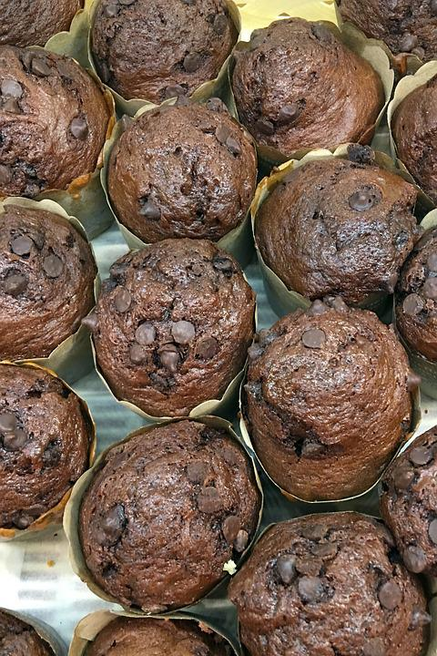 Brownies, Cakes, Chocolate, Brown, Muffin, Sweet
