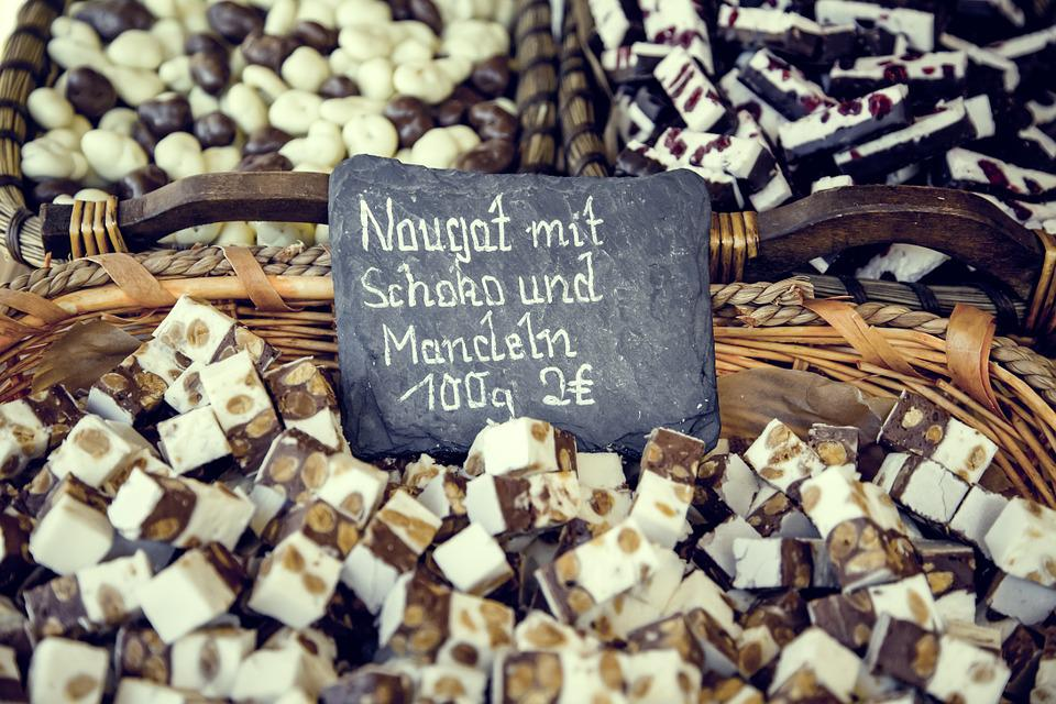 Nougat, Sweet, Candy, Piece, Cultivation, Urban, City