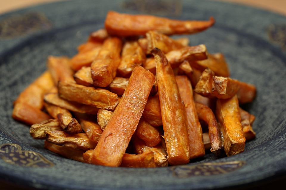 Potatoe, Potatoes, Potato, Sweet, Vegetarian, Meal