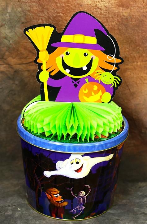 Halloween, Trick Or Treat, Candy, Sweet, Dessert, Sugar