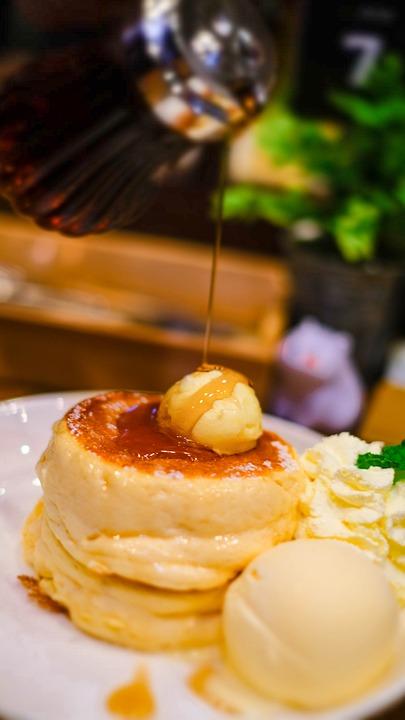 Pancake, Sweets, Cafe, Food, Sweet, The Sugar