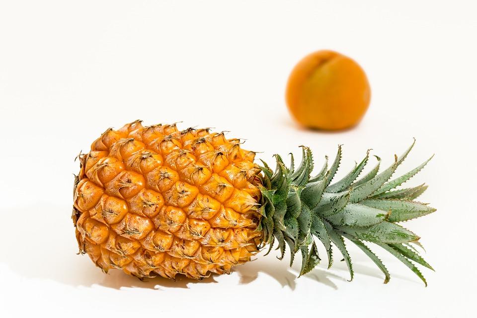 Pineapple, Tropical Fruit, Juicy, Sweet, Fresh, Healthy