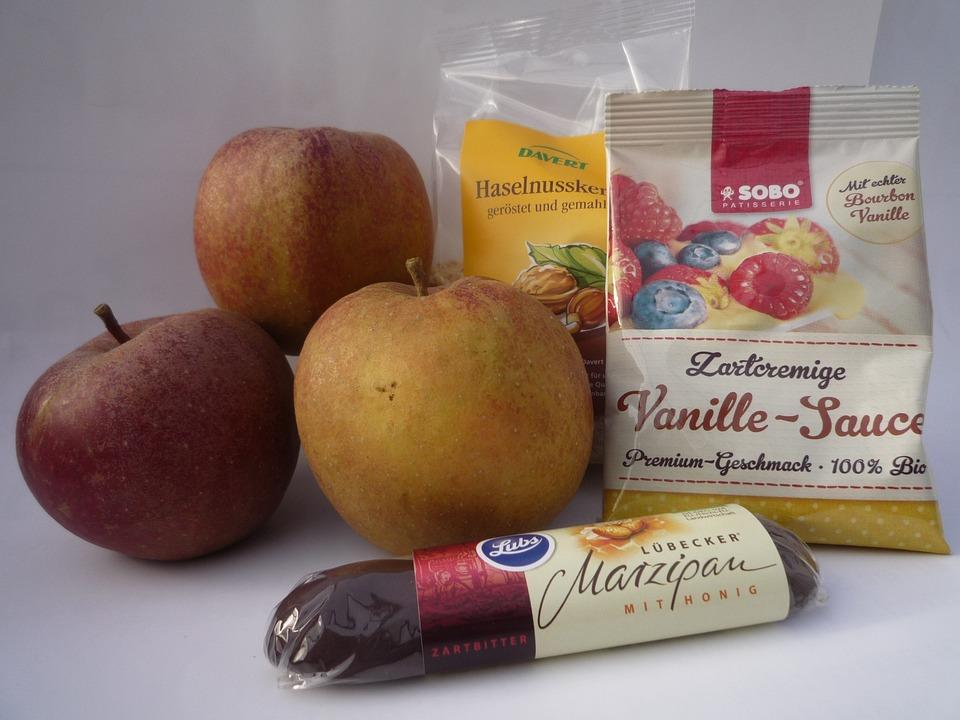 Baked Apple, Sweet, Winter, Boskop