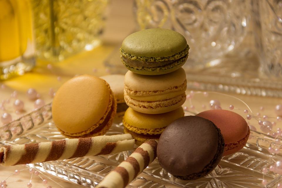 Macarons, Cookies, Close Up, Macro, Pastries, Sweetness