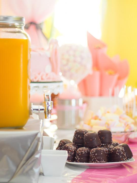 Birthday, Sweets, Food, Chocolate, Juice, Cake, Happy