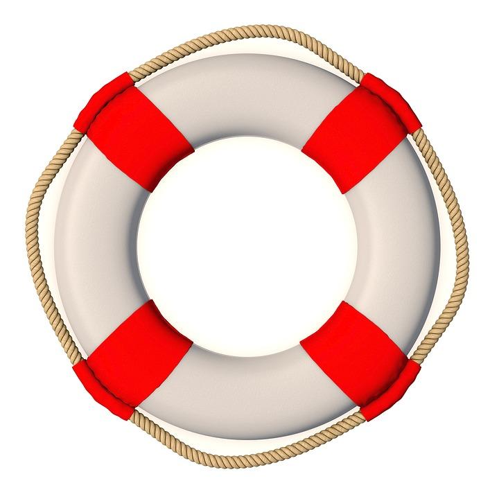 Lifebelt, Swimming Ring, Save, Help, Swim, Rescue