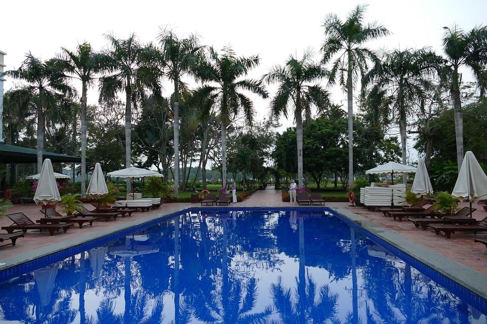Pool, Swim, Swimming Pool, Holiday, Fun Bathing
