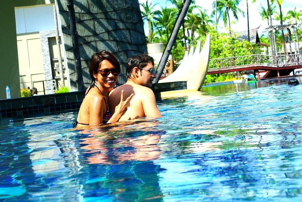 Swimming Pool, Outdoor Pool, Resort, Thailand, Khao Lak