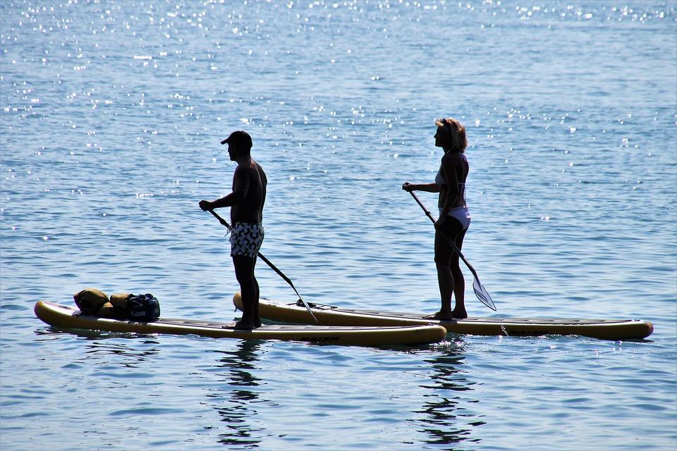 Sup, Lake, Sport, Active, Para, Total, Swimming, Board