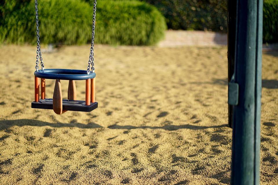 Swing, Children's Playground, Playground, Play
