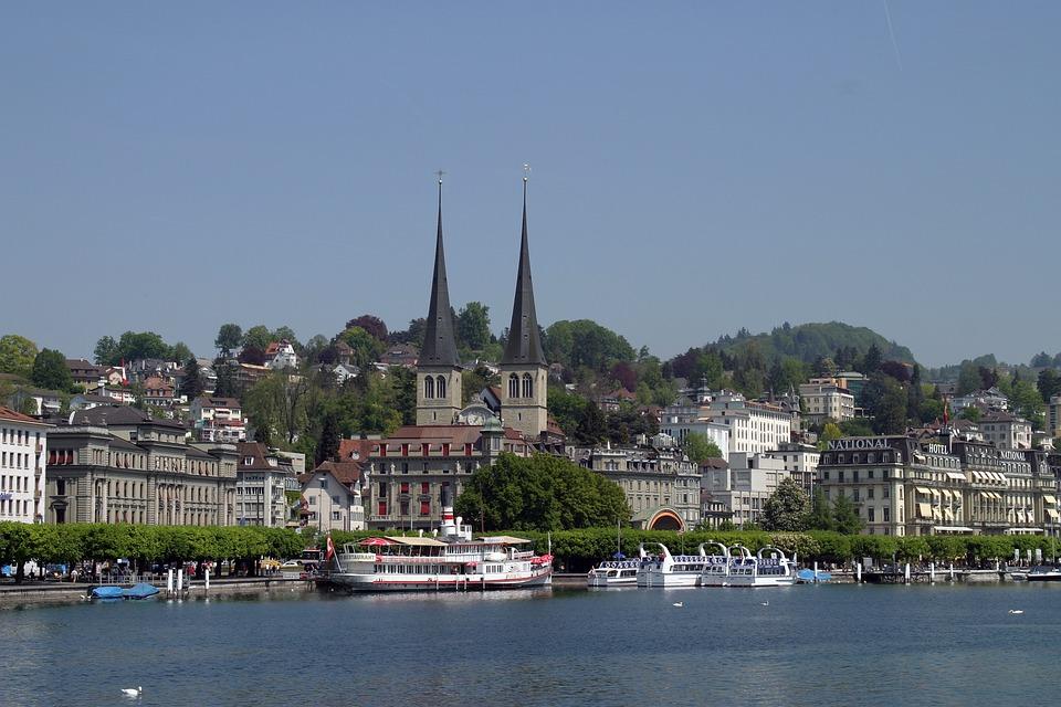 Swiss, Lucerne, Europe, Lake, Switzerland, Luzern