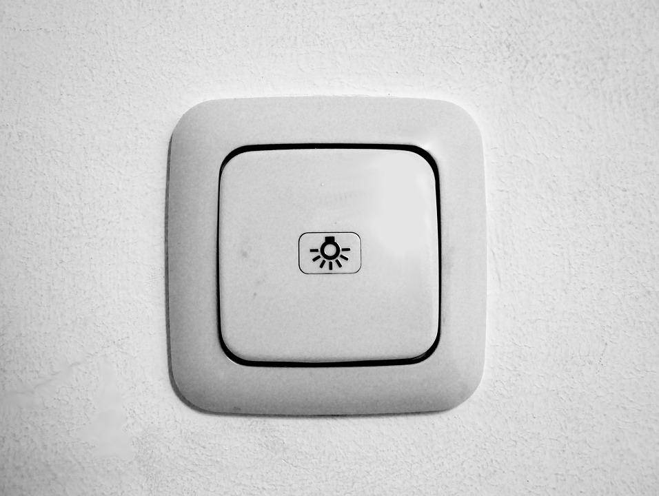 Light Switch, Light, Switch, Power, Electricity