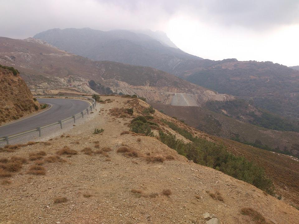 Switchback, Landscapes, Crete