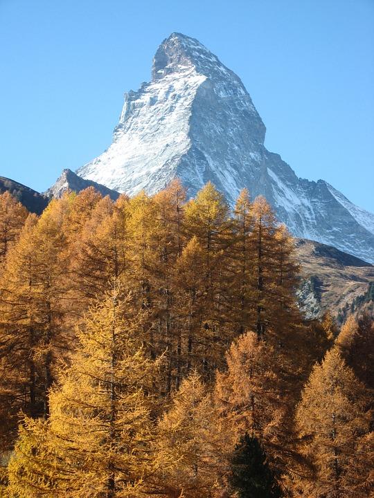 Matterhorn, Switzerland, Alpine, Alps, Swiss, Famous