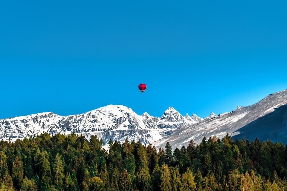 Switzerland, Graubünden, Alpine, Mountains, Nature