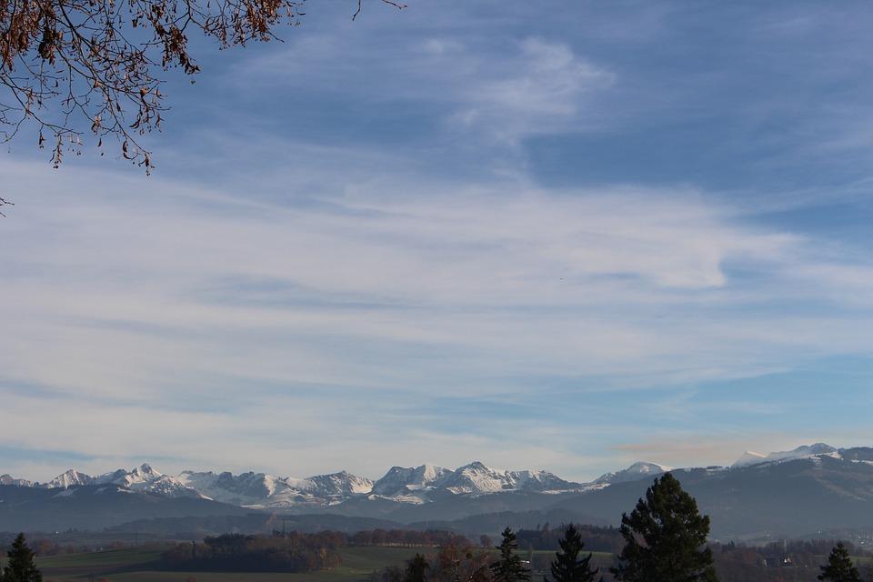 Switzerland, Foothills Of The Alps, Central Switzerland