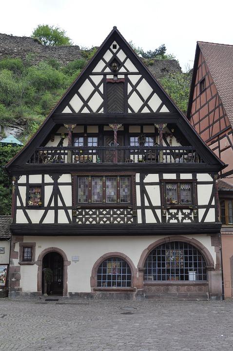 Kaysersberg, Switzerland, Chalet Style