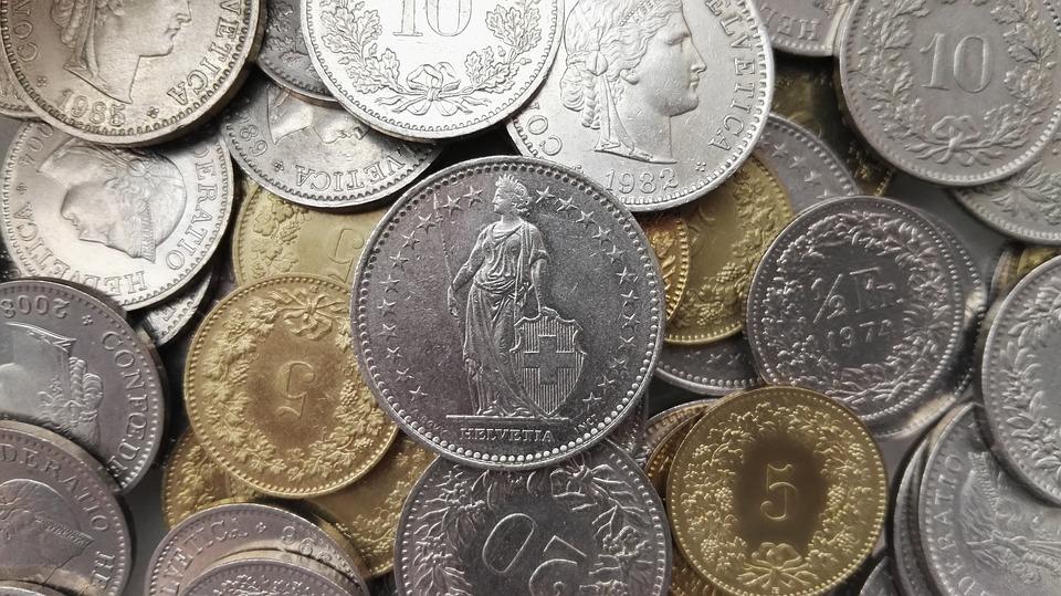 Switzerland, Money, Coins, The Swiss Franc, Chf