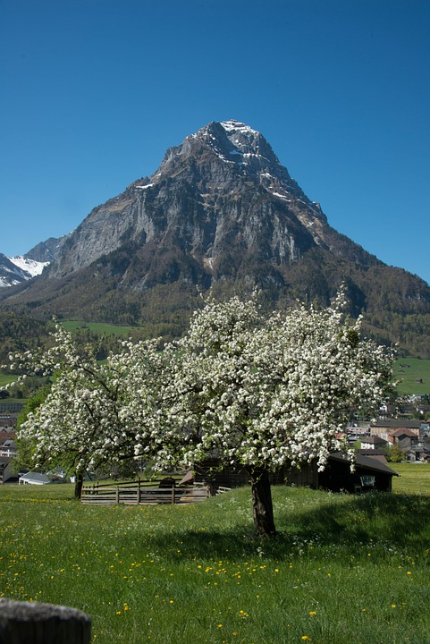 Glarus, Glärnisch, Mountains, Switzerland