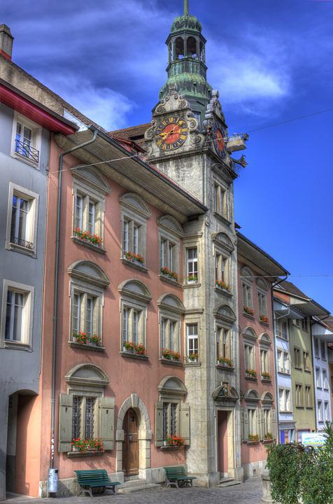 Town Hall, Lenzburg, Switzerland, Building