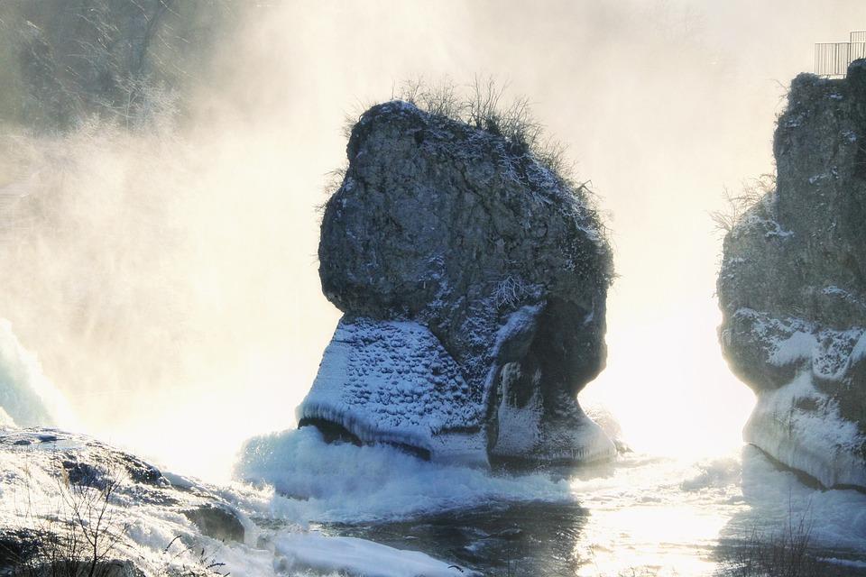 Rhine Falls, Switzerland, Waterfall
