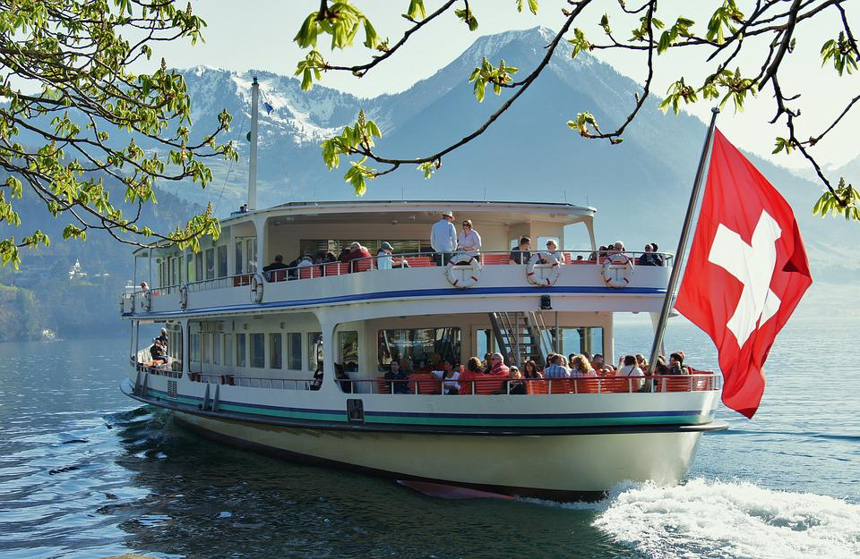 Lake Lucerne Region, Ship, Lake, Switzerland, Lucerne